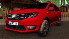 Dacia Logan MCV 2013 HQLM para GTA San Andreas
