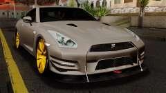 Nissan GT-R R35 2012 para GTA San Andreas