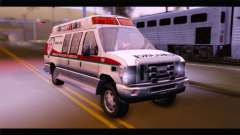 Ford E-350 Ambulance New Brunswick para GTA San Andreas