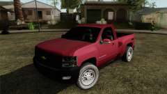 Chevrolet Silverado Cabina Sencilla para GTA San Andreas