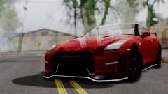 Nissan GTR Nismo 2015 para GTA San Andreas