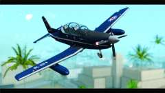 Beechcraft T-6 Texan II Royal Canadian Air Force para GTA San Andreas