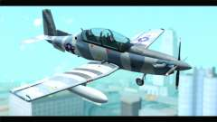 Beechcraft T-6 Texan II United States Air Force para GTA San Andreas