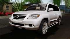 Lexus LX570 2011 para GTA San Andreas
