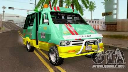 Toyota Microbus v2 para GTA San Andreas