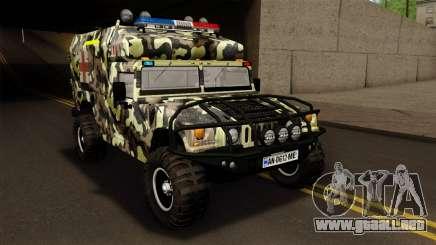 HMMWV M997 Ambulance para GTA San Andreas