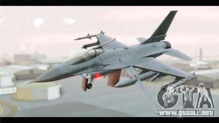 F-16A Republic of Korea Air Force para GTA San Andreas