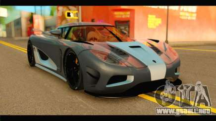 Koenigsegg Agera R 2011 Stock Version para GTA San Andreas