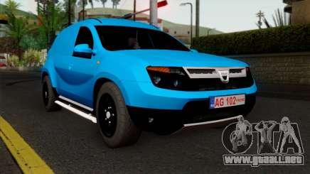 Dacia Duster Van para GTA San Andreas