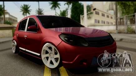 Dacia Sandero Low Tuning para GTA San Andreas