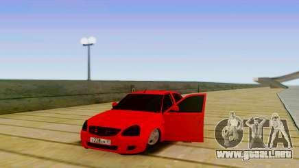 VAZ 2170 LA БПАN para GTA San Andreas