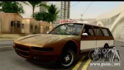 Regina with Infernus face para GTA San Andreas
