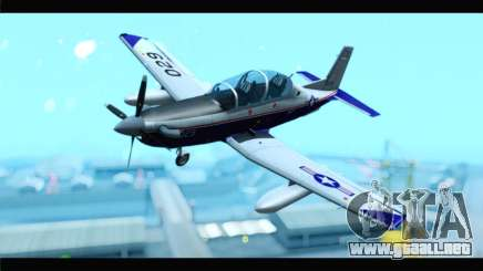 Beechcraft T-6 Texan II  United States Navy para GTA San Andreas