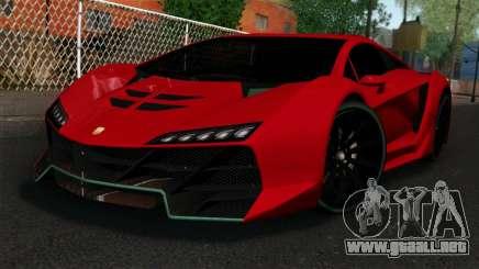 GTA 5 Pegassi Zentorno IVF para GTA San Andreas