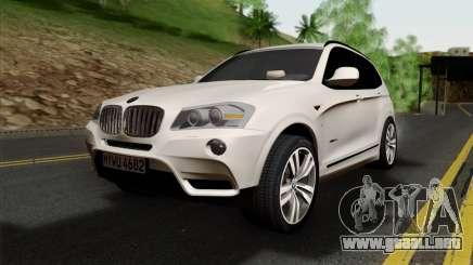 BMW X3 F25 2012 para GTA San Andreas