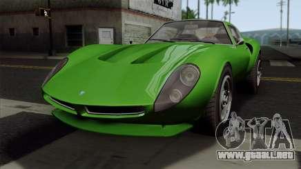GTA 5 Grotti Stinger GT v2 SA Mobile para GTA San Andreas