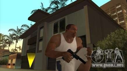 Gran ruso de armas de fuego para GTA San Andreas