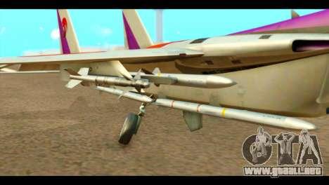 F-15C Air Combat para la visión correcta GTA San Andreas