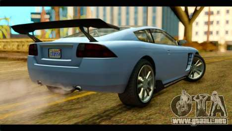 GTA 5 Ocelot F620 IVF para GTA San Andreas left