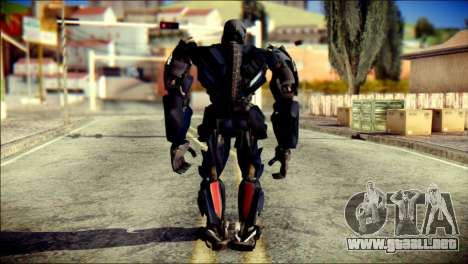 Lockdown Skin from Transformers para GTA San Andreas segunda pantalla