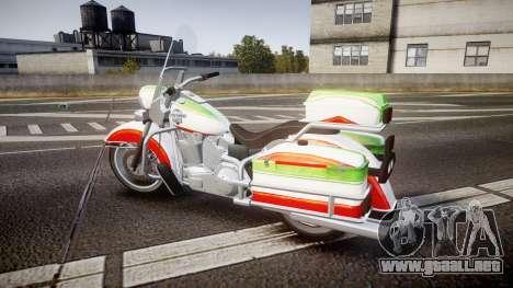 GTA V Western Motorcycle Company Sovereign IRN para GTA 4 left
