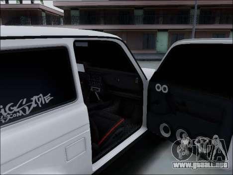 Lada Niva para GTA San Andreas interior