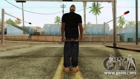 Tupac Shakur Skin v2 para GTA San Andreas segunda pantalla