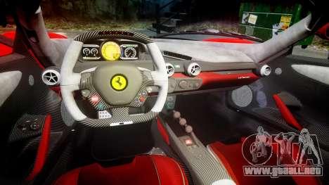 Ferrari LaFerrari 2013 HQ [EPM] PJ3 para GTA 4 vista interior