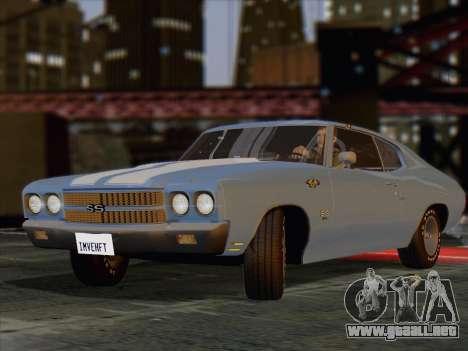 iniENB para GTA San Andreas segunda pantalla
