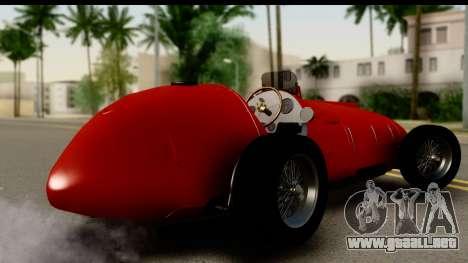 Ferrari 375 F1 para GTA San Andreas left