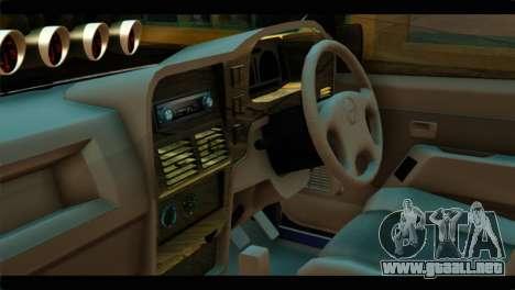 Isuzu Dragon para la visión correcta GTA San Andreas