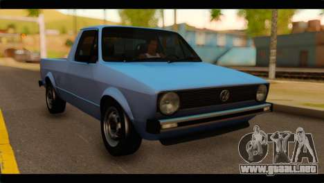 Volkswagen Caddy Mk1 Stock para GTA San Andreas
