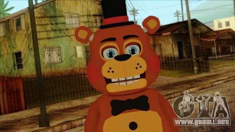 Toy Freddy from Five Nights at Freddy 2 para GTA San Andreas tercera pantalla