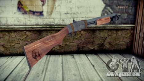 Rumble 6 Chromegun para GTA San Andreas segunda pantalla