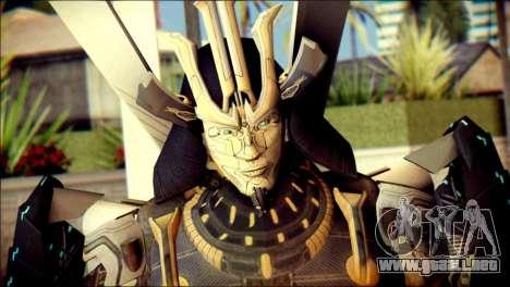 Drift Skin from Transformers para GTA San Andreas tercera pantalla