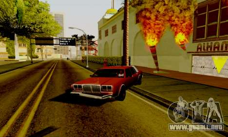 Light ENB Series v3.0 para GTA San Andreas tercera pantalla