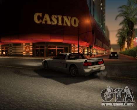 ENB Kiseki v1 para GTA San Andreas quinta pantalla