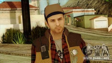 Big Rig Alex Shepherd Skin para GTA San Andreas tercera pantalla