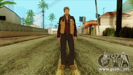 Big Rig Alex Shepherd Skin para GTA San Andreas