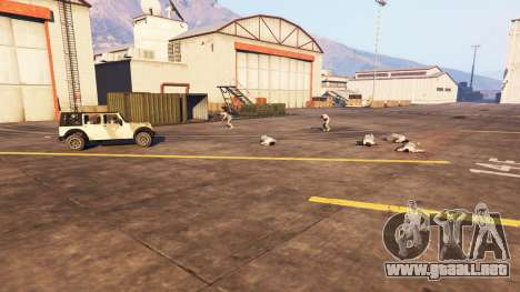 GTA 5 La infección tercera captura de pantalla