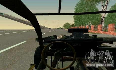 Dodge Charger RT HL2 EP2 para visión interna GTA San Andreas