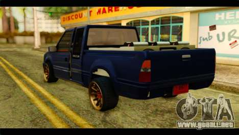 Isuzu Dragon para GTA San Andreas left