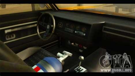 GTA 5 Declasse Sabre GT Turbo IVF para la visión correcta GTA San Andreas
