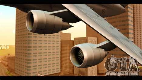 Lockheed C-5M RCAF para la visión correcta GTA San Andreas
