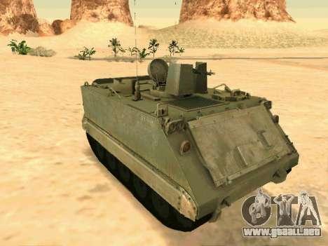 El M113 Blindados De Transporte De Personal para GTA San Andreas
