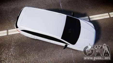 Ford Fusion Estate 2014 Unmarked Police [ELS] para GTA 4 visión correcta