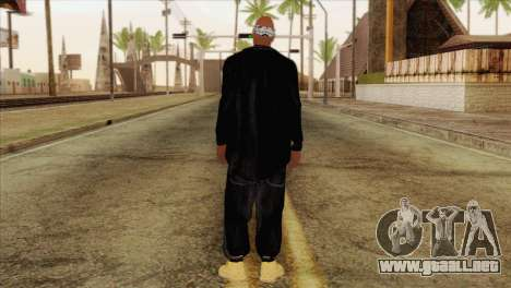 Tupac Shakur Skin v1 para GTA San Andreas segunda pantalla