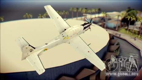 EMB 314 Super Tucano Colombian Air Force para GTA San Andreas left