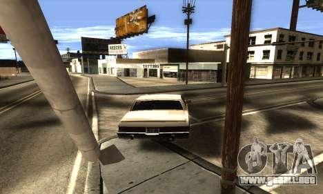 ENB Double Effect para GTA San Andreas sexta pantalla