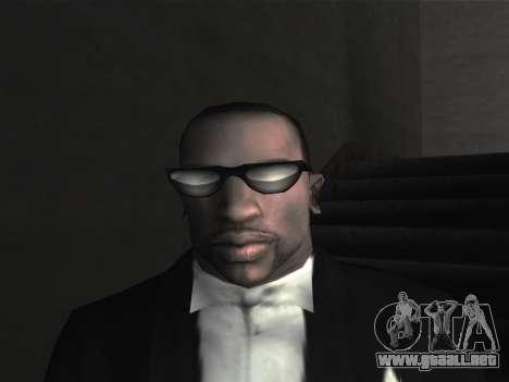 Las gafas nuevas para CJ para GTA San Andreas sexta pantalla